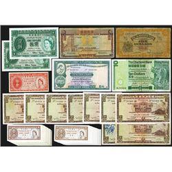 Hong Kong Banknote Assortment.