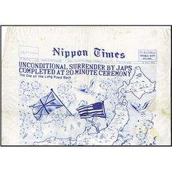 WW II Silk Printing
