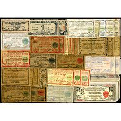World War II Emergency currency.