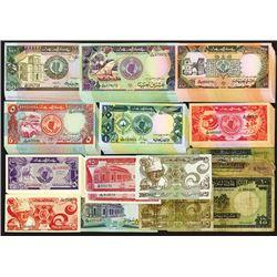 Bank of Sudan. 1970; 1981; 1985; 1987-90; 1991 Issue.