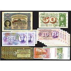 Swiss National Bank Assortment