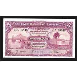 Government of Trinidad and Tobago, 1939 Issue Note.