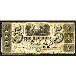 Republic of Texas, 1839-41 Fourth Issue