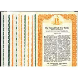 National Bank Note Bulletin, 1931