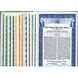 National Bank Note Bulletin, 1932