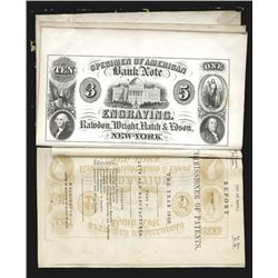 Rawdon, Wright, Hatch & Edson, 1850-51 Advertising Card Included in 1850 Report of the Commissioner