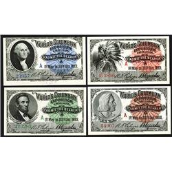 Columbian Exposition Tickets, 1892-1893.
