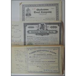 Northeastern Banking Stock Certificate Accumulation.