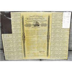 Confederate, 1863, 7% Cotton Loan.