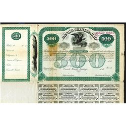 Banco Mobiliario, Specimen Credit Bill.