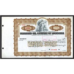 Standard Oil Company of Louisiana, ca 1900 Specimen Stock