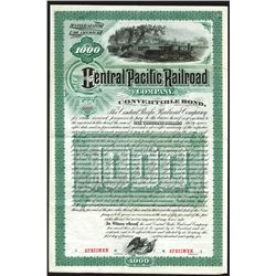Central Pacific Railroad Co., 1885 Convertible Bond.