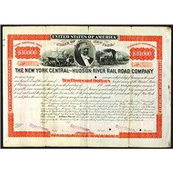 New York Central and Hudson River Rail Road Co., 1880's Specimen Bond.