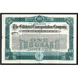 Gilchrist Transportation Co., 1904 Specimen Bond.
