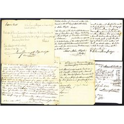 New York and Maine Legal Documents.