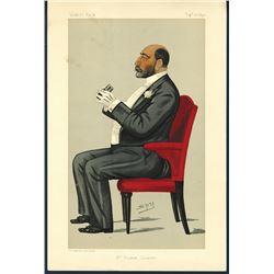 Vanity Fair Full Page Illustrations ca.1869.