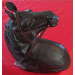 Leather Horse Head