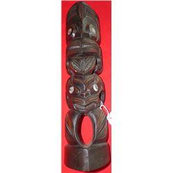 New Zealand Wood Tiki