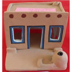 Pueblo Miniature House