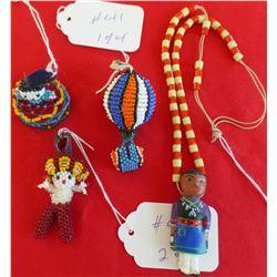 Group Apache Beadwork collection