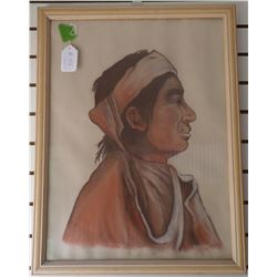 Painting of Navajo Man