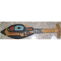 Tlingit Tribe Indian Paddle