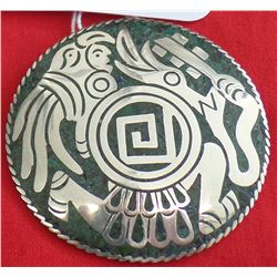 Taxco Mexico Signed Pendant/Pin