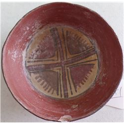 Polychrome Pre-Columbian Bowl