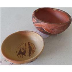 Two Hopi Pottery Bowls