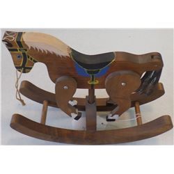 Rocking Horse with Articulating Legs
