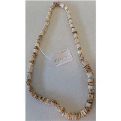 Prehistoric Bone Bead Necklace