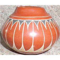 Polychrome Santa Clara Pottery