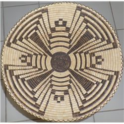 Large Papago Basketry Tray 1940's