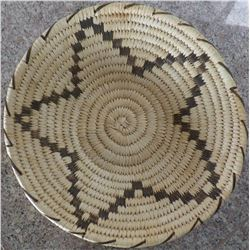 Papago Basketry Star Design Tray