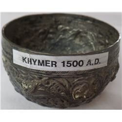 Khymer Silver bowl, from 1500's