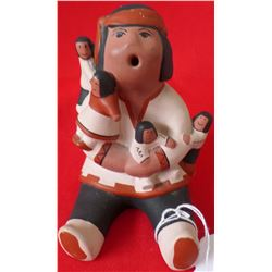 Navajo Storyteller pottery
