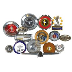 Automotive accessories (14), Ford Mustang, Gran Torino Sport, Shelby American Cobra, Mercury, etc.,