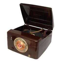 Automotive dealer radio & record player, given to Ford dealers in celebration of Ford's 50th Anniver