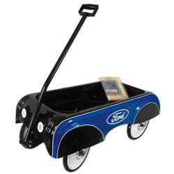 Toy wagon, Ford Cub Cruiser, an all steel replica of the 1937 original, complete w/Certificate of Au