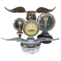 Automotive motometers & parts (4), Boyce Motometer Junior, Motometer G & E Corp-Long Island City, NY