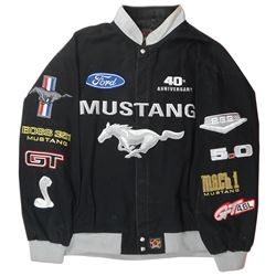 Ford Mustang 40th Anniversary jacket, made by JH Design, size 3XL, VG cond.
