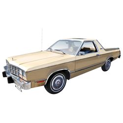 Pick-Up, 1981 Ford Fairmont Futura Durango.  Rare vehicle with less than 200 units built in 1981 and