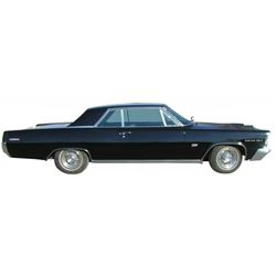 Automobile, 1963 Pontiac Grand Prix.  Less than 200 miles on rebuilt 421 motor. Well-cared for car w