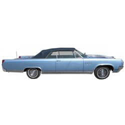 Automobile, 1963 Oldsmobile ?98? Ninety-Eight Convertible. This car has a 394 V8, 345 horsepower, 44
