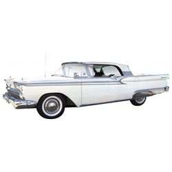 Automobile, 1959 Ford Galaxie Skyliner Hardtop (Retractable).  352 engine. PS, PB, AC and auto trans