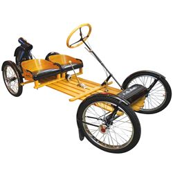 Automobile, A. O. Smith Flyer, a Rare 1917 open 2-seater, wooden buckboard frame w/4 wire wheels of
