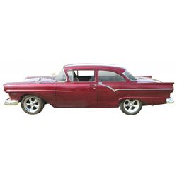 Automobile, 1957 Ford Custom 2-Door Sedan with 366 miles since it was rebuilt. Special features incl