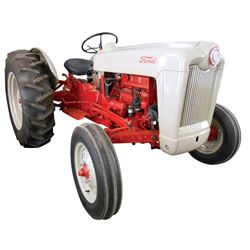 Tractor, 1953 Ford Golden Jubilee.  Fully restored and exceptionally well kept example of this class