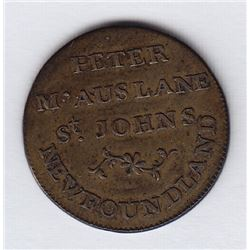 Peter McAuslane's Token - The highlight of the Geoffrey Bell collection