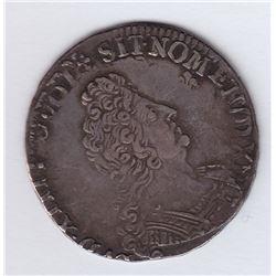 World Coins - France ½ Ecu (45 sols) 1704